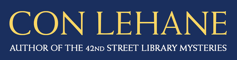 Con Lehane: Author of the 42nd Street Library Mysteries