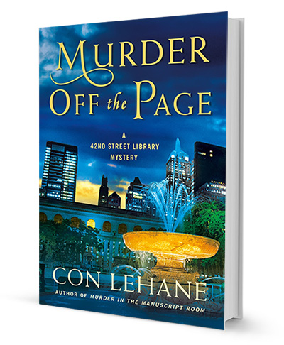 Murder Off the Page by Con Lehane